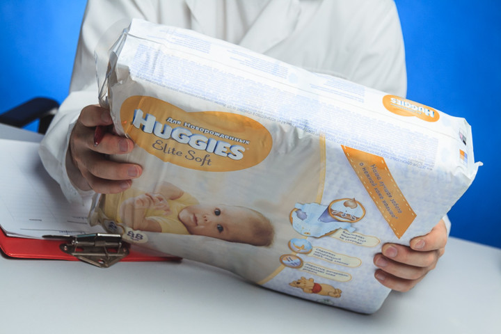 Huggies Elite Soft (4-7 кг)